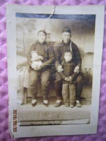 民国老照片【全家福】