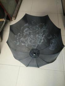 满洲时期大家美女用伞。高58厘米