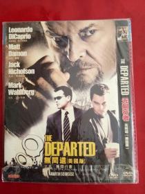 美国版无间道 DVD电影