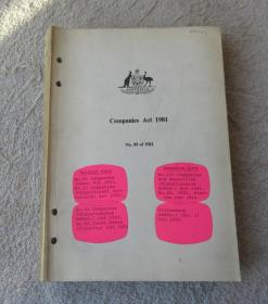 Companies Act 1981 No.89 of 1981