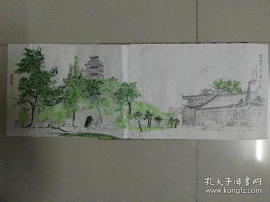 家门囗的风景,静海寺.