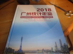 2018-广州统计年鉴 带光盘