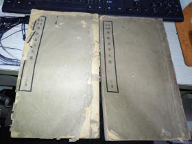 佛教各宗大意 上下册 白宣纸版,少见版本 (下册底部有磨损的 看图)
