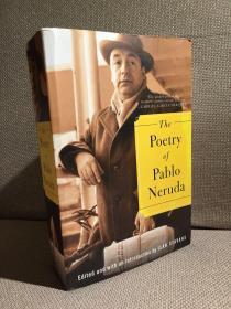 The Poetry of Pablo Neruda锛堛�婅亗椴佽揪璇楀叏闆嗐�嬶紝鍚勫ぇ鍚嶅鑻辫瘧锛屾湁瑗胯鍘熸枃锛岃璐濆皵鏂囧濂栧緱涓伙紝楂樺搧璐ㄧ殑骞宠涔︼級