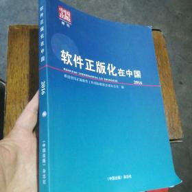 软件正版化在中国2016