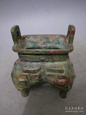 青铜器 方鼎