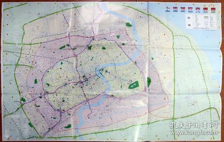 上海城区交通图