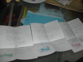 1945年民国英语信札一通:信纸上有西湖十景之一图片【钢笔书写,无信封,详见图示,永久包真】
