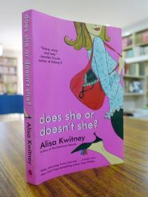 Alisa Kwitney:Does She or Doesn`t She?(爱丽莎·奎特尼:她到底是不是?)