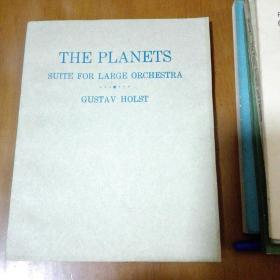 THE PLANETS SUITE FOR LARGE ORCHESTRA 行星组曲 英文