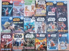 DK readers 星球大战 分级阅读15本92元包邮 儿童星战百科 英文科普课外读物
