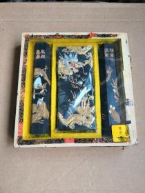 徽墨  个人收藏,赌博网:玻璃礼盒套装,胡开文监制。