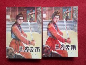 武侠小说《王府云雨》艾宝奇著华夏出版社1987年1月1版1印32开