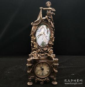 天使钟表(能正常使用)