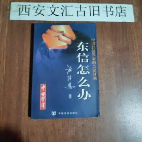 签名本:中国经济发展的关键时刻:东信怎么办