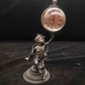 天使举钟表(能正常使用)