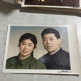 夫妻老照片