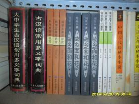 古汉语常用多义字词典