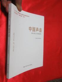 中国声音——国际热点问题透视     【小16开】