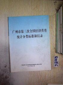 广州市第三次全国经济普查统计分类标准和目录,,.
