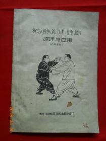 杨式太极拳、��、刀、杆、推手、散打原理与应用