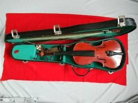 上海百灵LARK牌四分之二小提琴