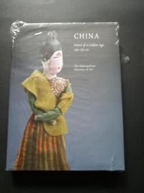 China: dawn of a golden age,200-750AD(走向盛唐英文版图录)精装全新未开封