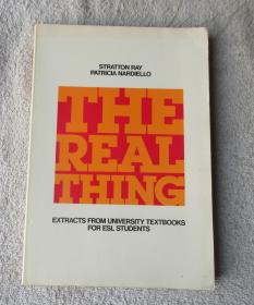 The Real Thing: Extracts from University Textbooks for ESL Students