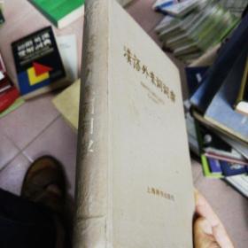 汉语外来语词典(精装)