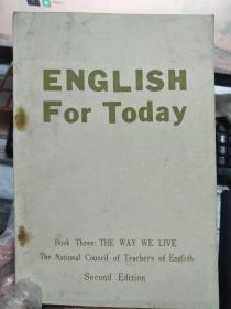 《ENGLISH For Today》