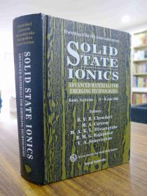 SOLID STATE IONICS(英文原版:固态电子学)