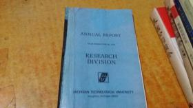 annual report research division