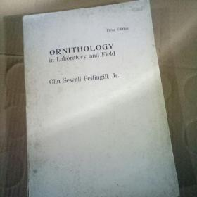 Fifth Editon   ORNITHOLOGY   in Laboratory and Field   Olin Sewall Pettingill , Jr . 实验类鸟类学和野外鸟类学  第五版