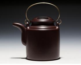 【正品保证】宜兴紫砂壶名家国工艺美术师全手工功夫洋桶壶