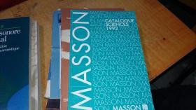 catalogue sciences 1992