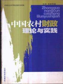 中国农村财政理论与实践