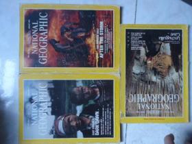 国家地理杂志1991-2;3;6合售英文版