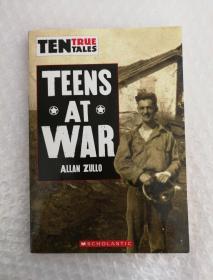 TEENS AT WAR ALLAN ZULLO