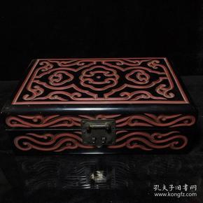 漆器几何纹盒1