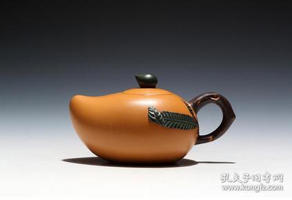 【正品保证】宜兴紫砂壶名家国工艺美术师全手工功夫茶壶芒果壶