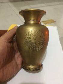 铜梅瓶/漂亮至极