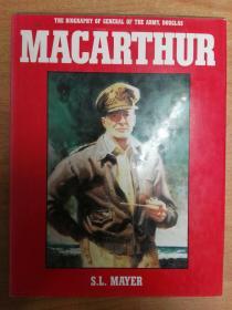 Biography General Army Douglas Macarthur 道格拉斯·麦克阿瑟将军传记(大16开精装 英文版)