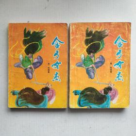 《金弓女杰》(上下)肖逸长篇武侠小说 1988年7月一版一次印刷