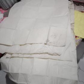 老麻纸【160✘95/2张】【120✘110/1张】【100✘100/2张】【共计5张】