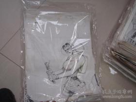 30 90年代出版过的名家动漫原稿《盗墓者》59张 长47厘米宽36厘米