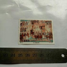 唐.张议潮出行图1994-8(4-3)T