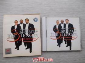 3大男高音精选   老 CD 1碟,详见书影 发货前都会试听,保证正常播发后发货,请放心下单,只发快递。