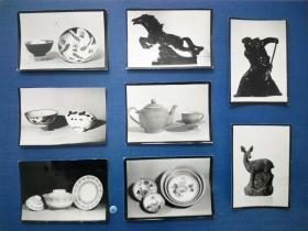 罕见建国初期陶瓷艺术系列照片 1964年轻工业展览工作处摄制 全国日用品美术设计展览会瓷器部分  代表了一个年代一个时期的陶瓷发展艺术成就 极具史料价值