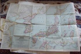 世界地图-1945年外国版