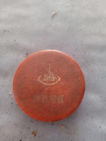 (箱7)建国后 上海红星农场  戏剧胭脂广告盒,尺寸6*11.5cm